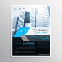 annual report brochure template cover presentation