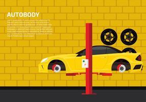 Auto Body Template Free Vector