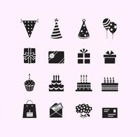 Birthday Vector Symbol Pack