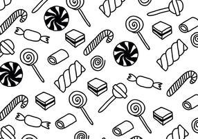 Black & White Candy Patterns