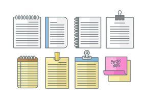 【便条纸素材】36套 Illustrator 可爱便条纸图案下载,便条纸下载推荐款