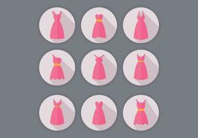 【Q版礼服】70套Illustrator 卡通Q版礼服图案下载