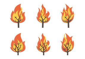 【火焰素材】35套 Illustrator 火焰图腾下载,火焰图案推荐款
