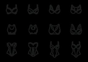 【内衣图片AI】29套Illustrator 内衣图片下载