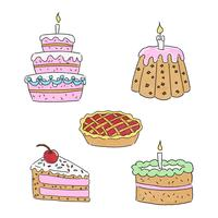 Cute Cake Dessert Collection