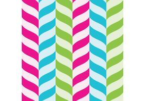 Candy Cane Vector Background