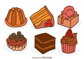 Cartoon Chocolate Cake
