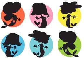 【美人鱼图案】36套 Illustrator 美人鱼 Q版图下载,美人鱼图画推荐款