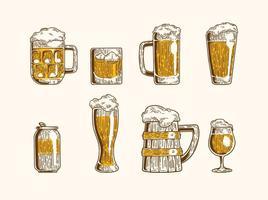 【啤酒图片】38套 Illustrator 啤酒图案下载,啤酒素材推荐款