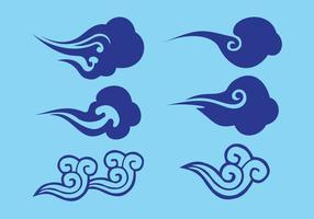 【云素材】66套 Illustrator 云朵素材下载,云朵图案推荐款