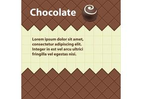 Chocolate Vector Background