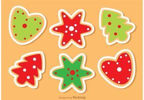 Christmas Cookies Vectors Pack