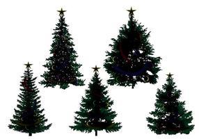【圣诞树图案】70套 illustrator 圣诞树符号下载,圣诞树图片素材推荐