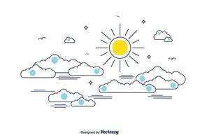 【天空背景】40套 Illustrator 天空图片下载,天空壁纸推荐款