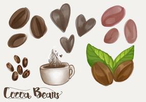 【咖啡豆图案】28套 Illustrator 咖啡豆图片下载,咖啡豆素材推荐款