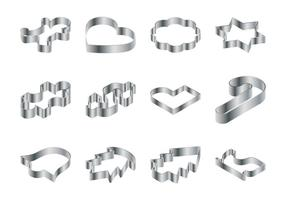 Cookie Cutter Vector Pack