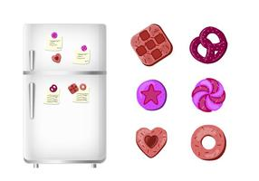 Cookie Shape Magnet