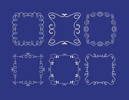 【可爱边框】70套illustrator 可爱边框素材下载,花边素材推荐款