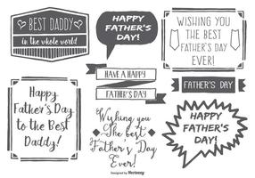 【父亲节图片】88套Illustrator 父亲节图案免费下载,父亲节卡片范本首选