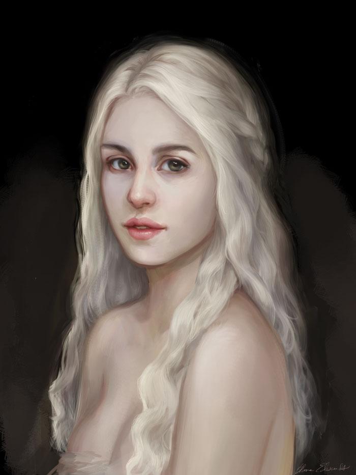 Daenerys by feavre