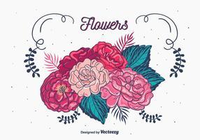 【花png】31套 Illustrator 花图案下载,花插画推荐款