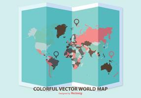 【世界地图壁纸】60套 Illustrator 世界地图 ai下载,地图素材推荐款