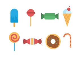 Candy and Sugar Vector