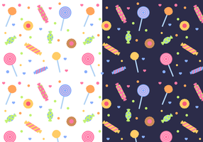 Free Candy Pattern Vector