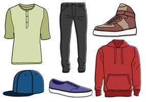【服装版型】107套Illustrator 服装设计版型下载