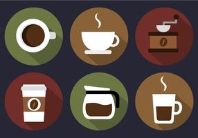 【咖啡图案】32套 Illustrator 咖啡素材下载,咖啡插图推荐款