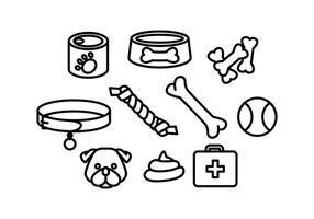 【小狗向量图】82套Illustrator 狗狗向量图AI档免费下载