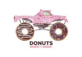 【甜甜圈图片】35套 Illustrator 甜甜圈图案下载,甜甜圈 logo推荐款