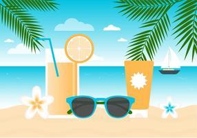 【夏天背景】42套 Illustrator 夏天素材下载,夏天桌布推荐款
