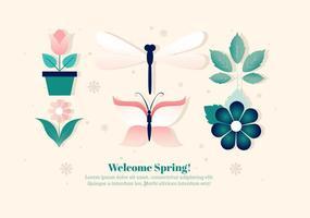 【蜻蜓图案】39套 Illustrator 蜻蜓卡通图下载,蜻蜓图画推荐款