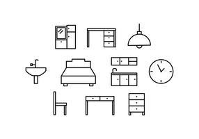 【椅子素材】34套 Illustrator 椅子卡通下载,椅子图片推荐款