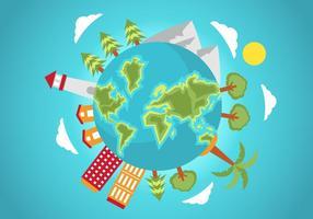 Free Globe Vector Illustration