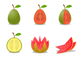 【芭乐图案】38款Illustrator AI芭乐图片素材下载,可爱芭乐图推荐