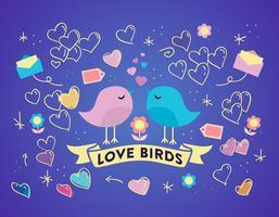 【爱心卡通图】35套 Illustrator 爱心图库下载,爱心logo推荐款