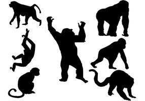 【猴子卡通图案】38套 Illustrator 猴子图案下载,猴子图片推荐款