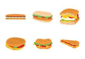 【三明治图片】35套 Illustrator 三明治图案下载,三明治素材推荐款