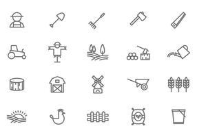 【农场图片】32套 Illustrator 农场图案下载,农场素材推荐款