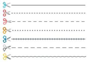 【剪刀符号】55套 Illustrator 剪刀图案下载,剪刀 icon推荐款