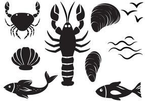 【虾子卡通图】35套 Illustrator 虾子图片下载,虾子图案推荐款
