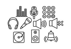 【麦克风图案】35套 Illustrator 麦克风素材下载,麦克风卡通图案推荐款