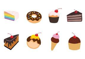 Sweet Cake Vector Illustration