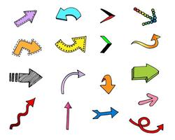 【箭头图案】120套 Illustrato 可爱AI箭头图案素材下载