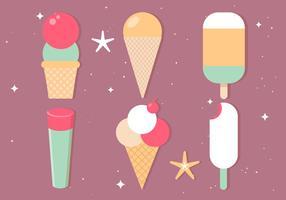 【冰淇淋图案】31套 Illustrator 冰淇淋素材下载,冰淇淋卡通图推荐款