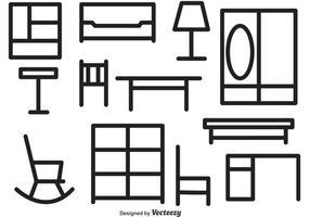 【家具素材】32套 Illustrator 家具图片下载,家具ai推荐款