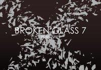 【玻璃笔刷】42套PHOTOSHOP 玻璃效果笔刷免费下载