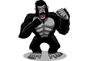 【猩猩卡通图】38套 Illustrator 猩猩图片下载,猩猩图案推荐款